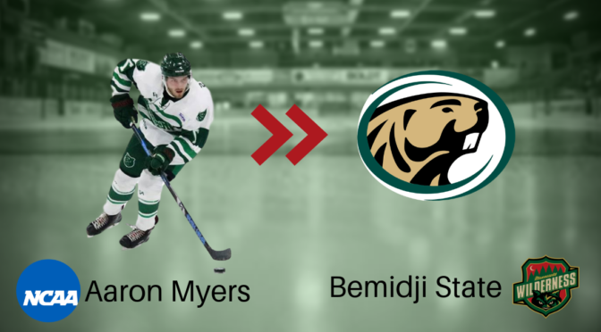 Minnesota Wilderness Aaron Myers to Play Division I Hockey at Bemidji State University