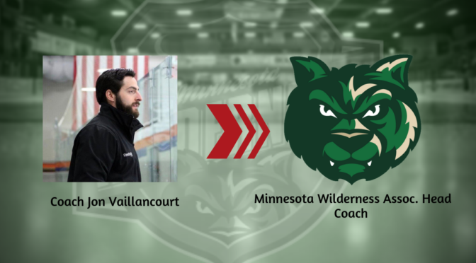 Wilderness Hire Jon Vaillancourt as Associate Head Coach